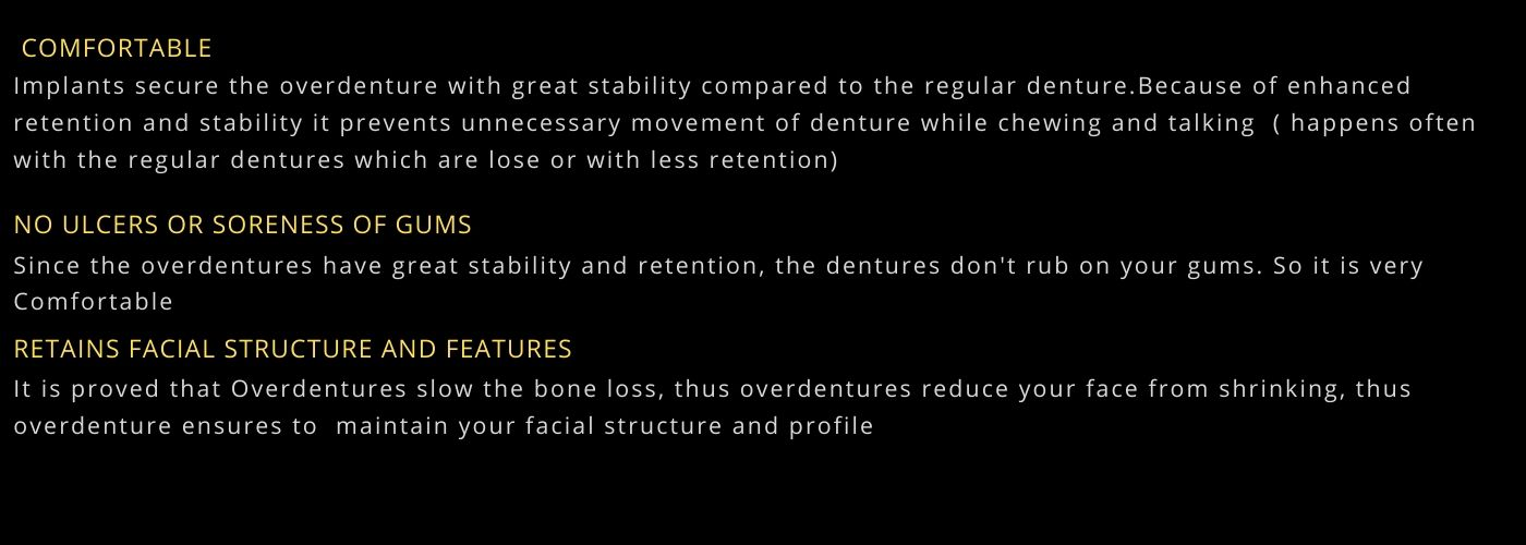 Best dental clinic for overdentures in Bangalore