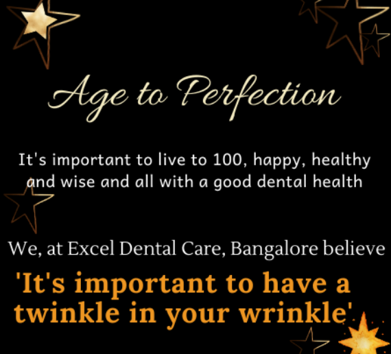Dental clinic for elderly people in Bangalore