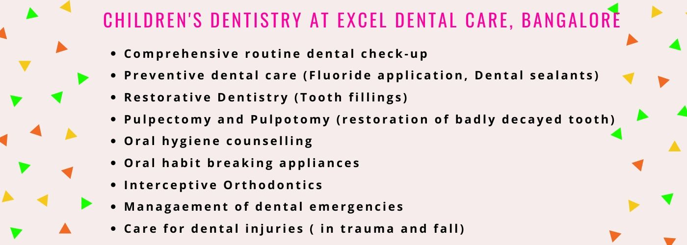 Specialist pediatric dentist in Jayanagar
